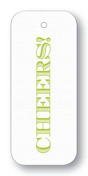 Cheers Chartreuse Gift Tags
