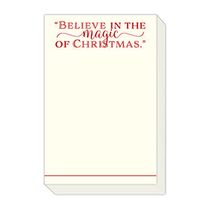 Believe in the Magic Notepad