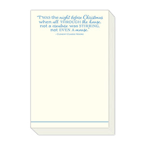 Twas the Night Before Christmas Notepad