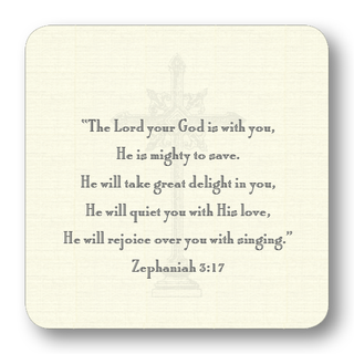 Cross Gift Card with Zephaniah 3-17