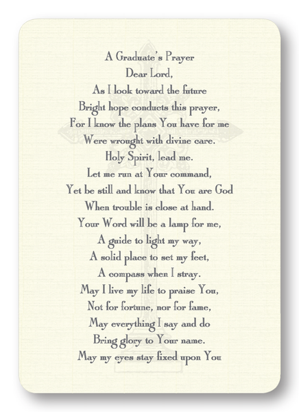 A Graduate's Prayer Enclosure Cards