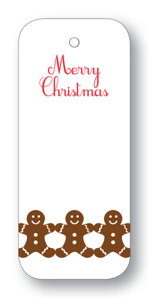 Gingerbread Men Gift Tag