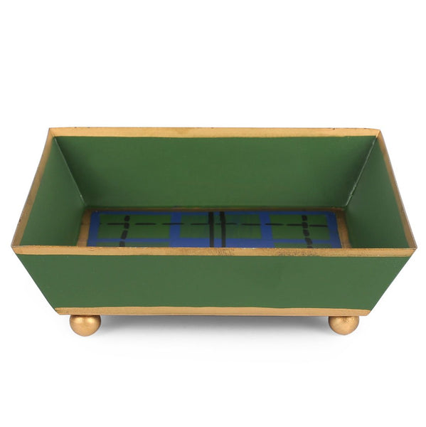 Scottish Plaid Cocktail Napkin Tray