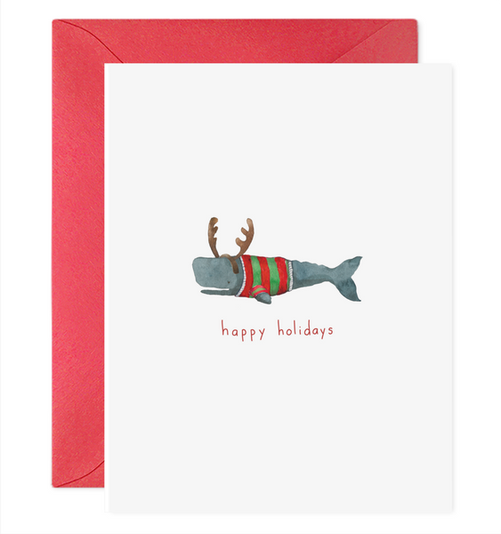 Festive Frankie Greeting Card