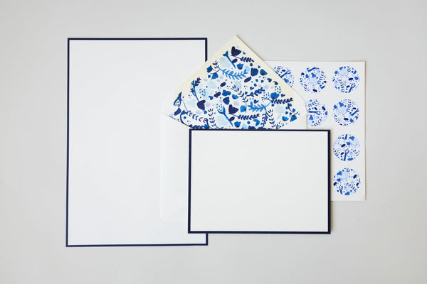 Heritage Letter Writing Kit - Hydrangeas