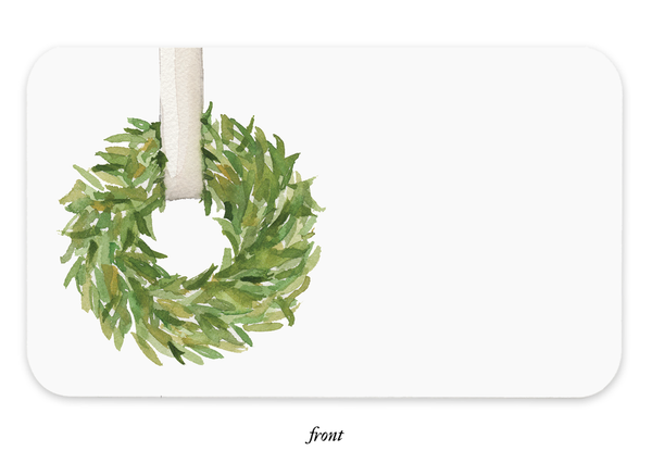 Classic Wreath Little Notes