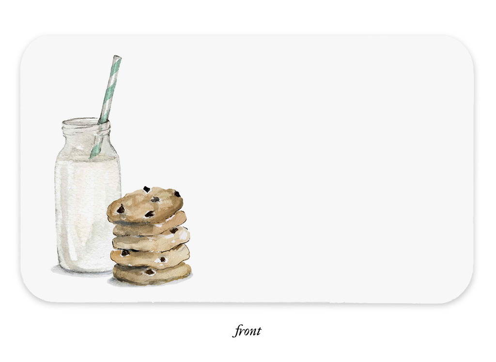 Cookies and Milk Little Notes