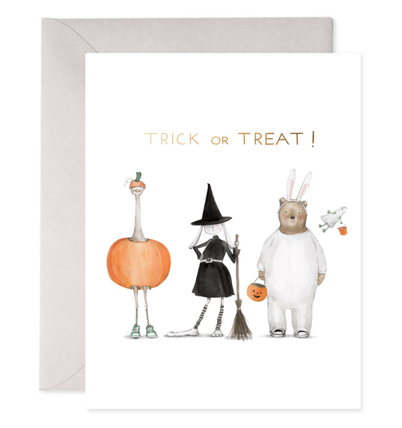 Trick or Treat Squad Greeting Card