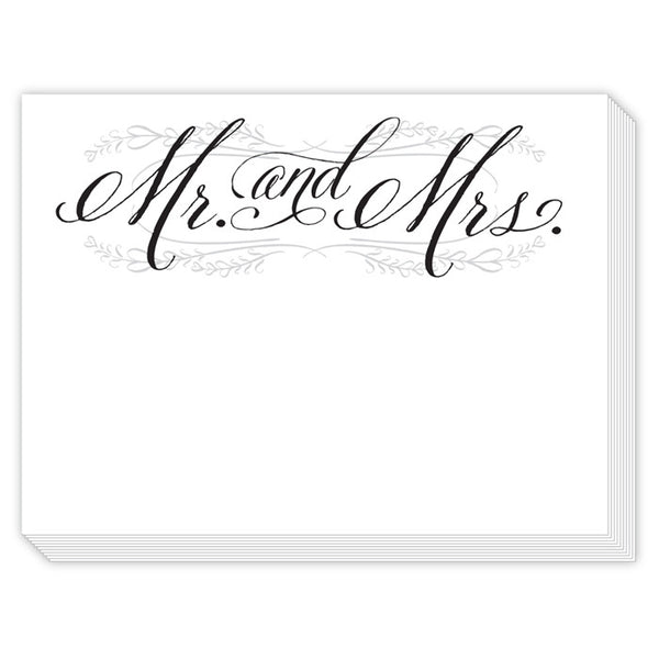 Mr. & Mrs. Mini Slab Notepad