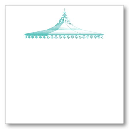 Tent Top Notepad