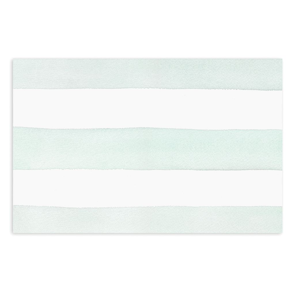 Green Stripe Notepad