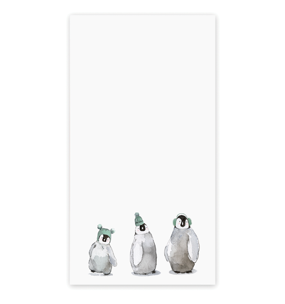 Penguin Party Notepad