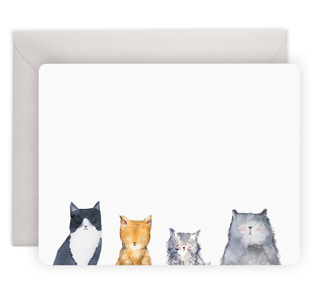 Cat's Meow Notecards