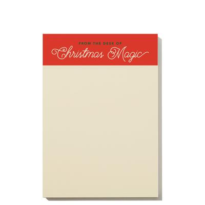 Christmas Magic Notepad