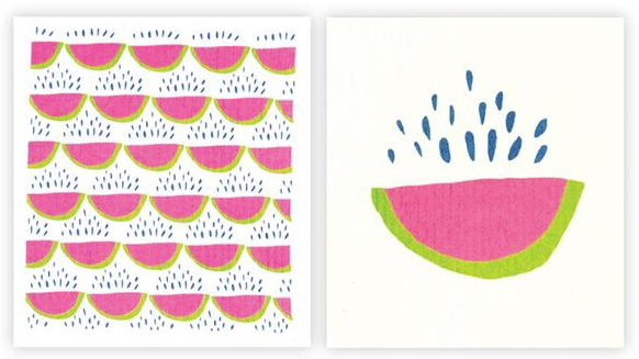 Watermelon Blu Cloths
