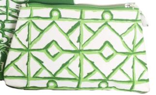 Green Twigs Travel Cosmetic Bag