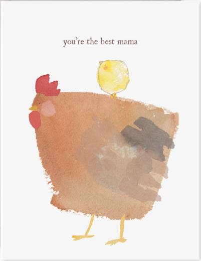 Mama Hen Mother's Day Card
