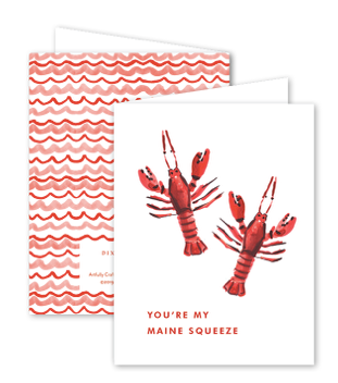 Maine Squeeze Card