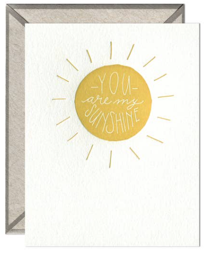 My Sunshine Greeting Card