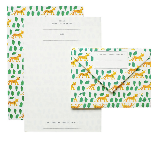Leopards Letterhead Set