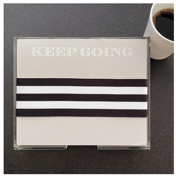 Keep Going Notepad