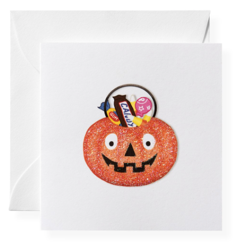 Trick or Treat Enclosure Card
