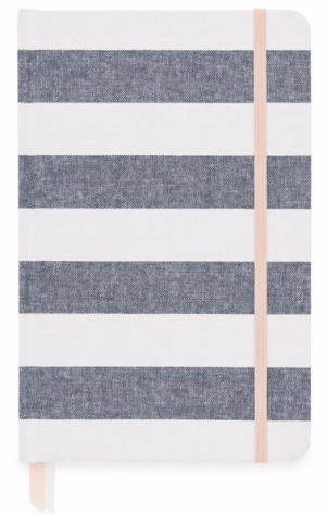 Chambray Stripe Essential Journal