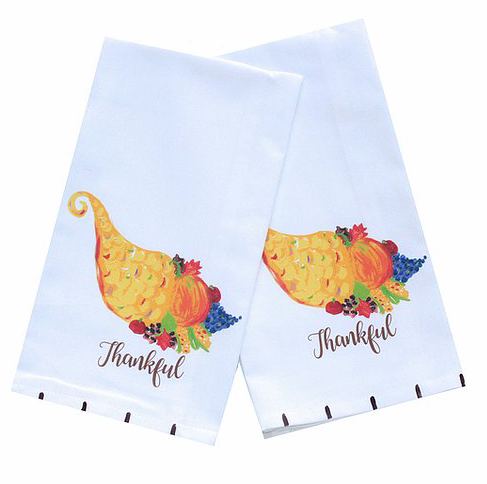 Thanksgiving Cornucopia Kitchen Towel