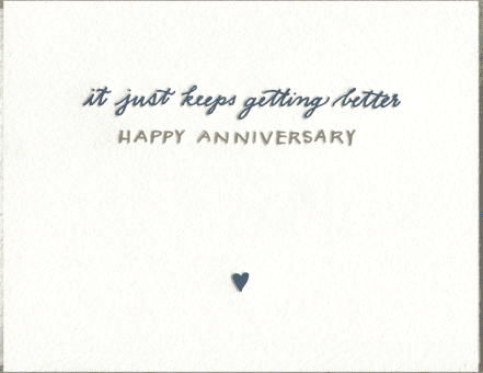 Happy Anniversary Greeting Card