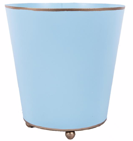 Light Blue Colorblock Cachepot