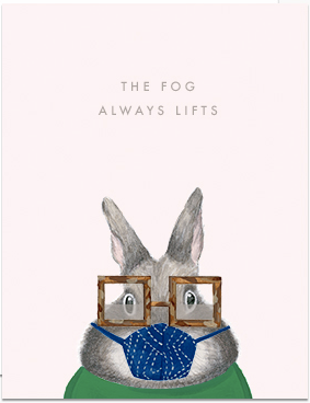 The Fog Always Lifts Greeting Card