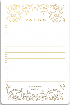 Tasks Notepad
