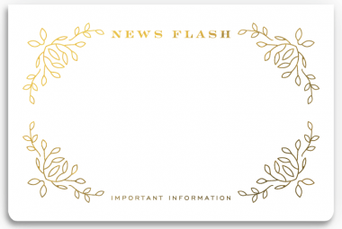 Newsflash Notepad