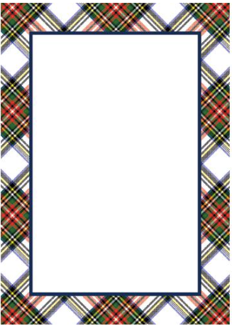 Stewart Plaid Notepad