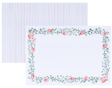 Floral Garland Notecards