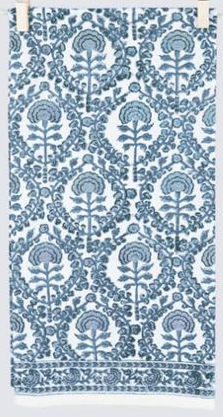 Caroline Blue Tea Towel
