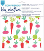 Garden Red Blu Dish Cloths
