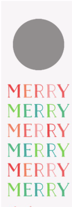 Merry Merry Wine Tags