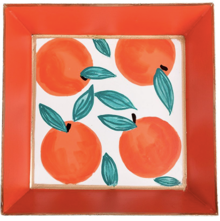 Oranges Cocktail Napkin Tray