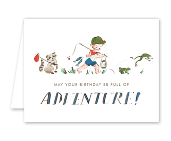 Adventure Boy Card