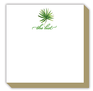 The List Palm Luxe Notepad