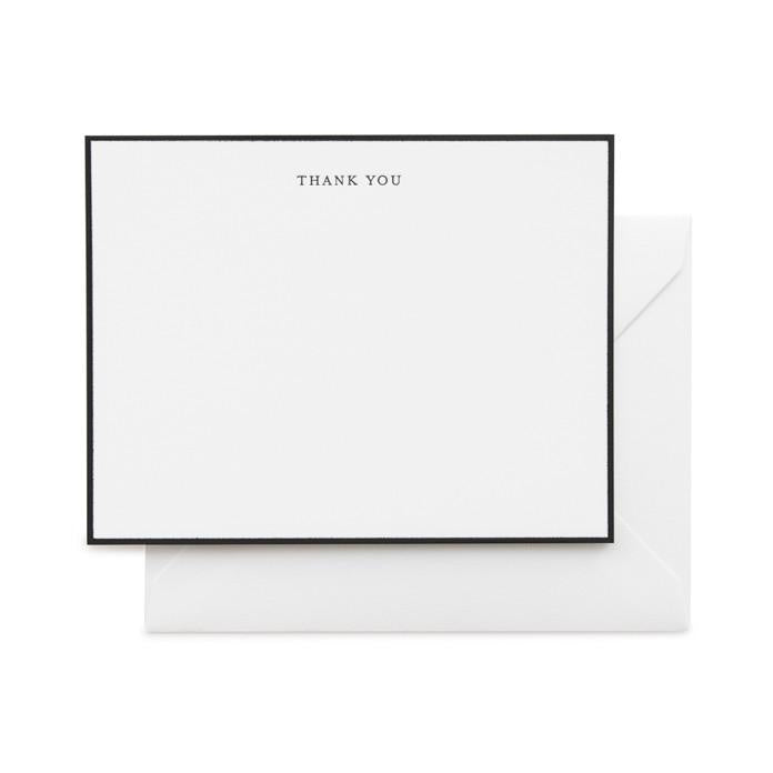 Simple Thank You Notecards