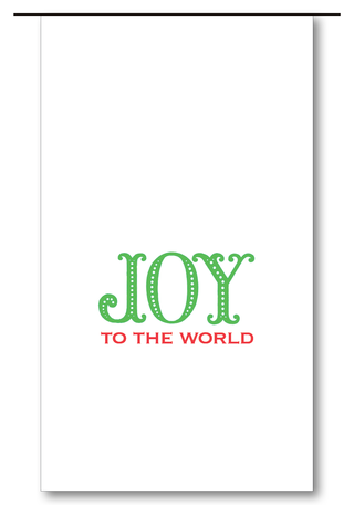 Joy to the World Wine Bags