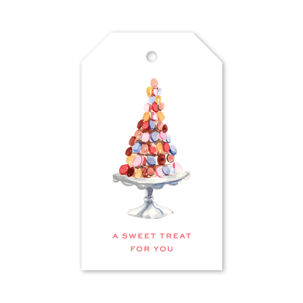 Colorful Macarons Gift Tags