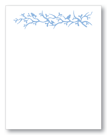 Birds On A Vine Notecards