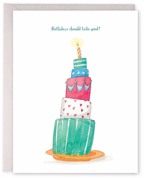 Birthdays Should Taste Good Card