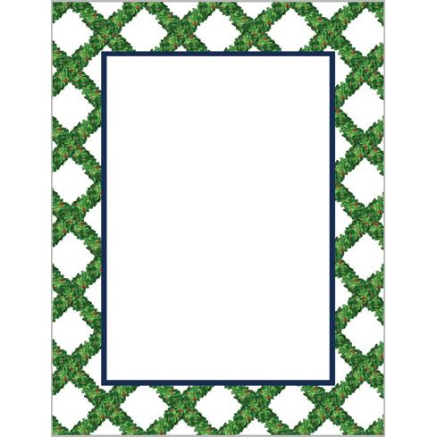 Boxwood Lattice Notepad
