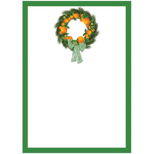 Citrus Wreath Notepad