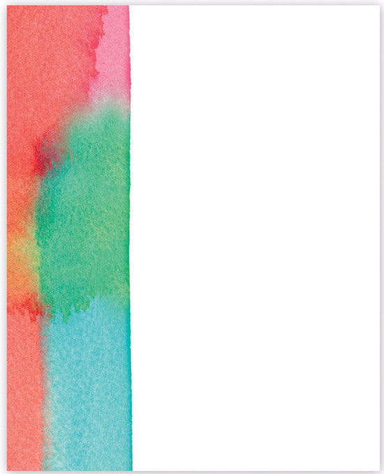 Color Stripe Mini Notepad