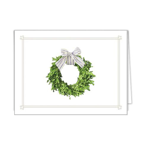 Farmhouse Wreath Notecards